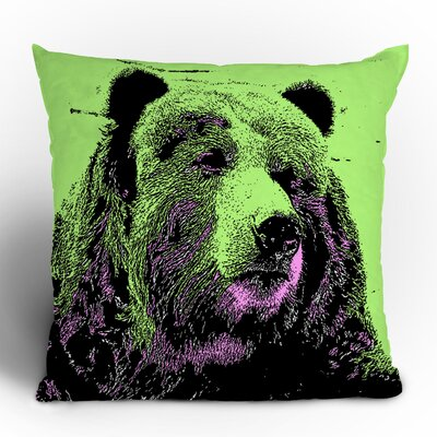 DENY Designs Romi Vega Bear Polyester Throw Pillow