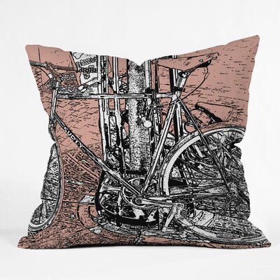 DENY Designs Romi Vega Polyester Bike Indoor / Outdoor Throw Pillow