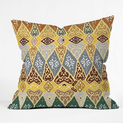 DENY Designs Romi Vega Polyester Diamond Tile Indoor / Outdoor Throw Pillow