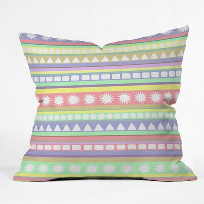 DENY Designs Romi Vega Indoor/Outdoor Polyester Throw Pillow