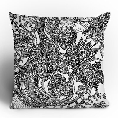 DENY Designs Valentina Ramos Bird Polyester Throw Pillow