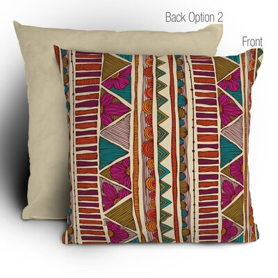 DENY Designs Valentina Ramos Ethnic Stripes Polyester Throw Pillow