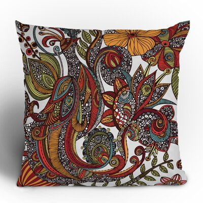 DENY Designs Valentina Ramos Paradise Bird Polyester Throw Pillow