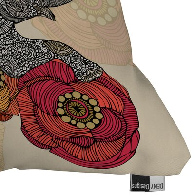 DENY Designs Valentina Ramos Rosebud Indoor/Outdoor Polyester Throw Pillow