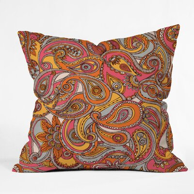 DENY Designs Valentina Ramos Polyester Spring Paisley Indoor/Outdoor Throw Pillow