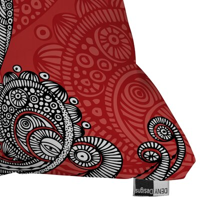 DENY Designs Valentina Ramos The Bird Indoor/Outdoor Polyester Throw Pillow