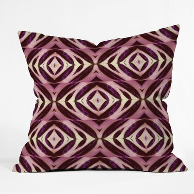 DENY Designs Wagner Campelo Calathea Indoor/Outdoor Polyester Throw Pillow