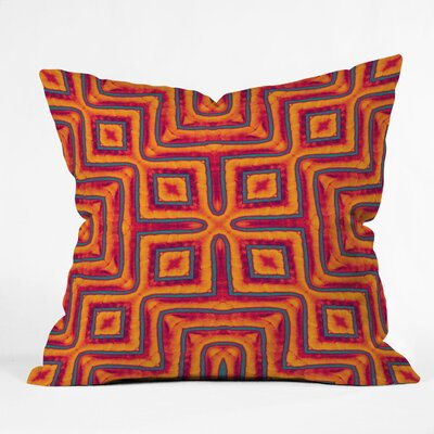 DENY Designs Wagner Campelo Sanchezia X Indoor/Outdoor Polyester Throw Pillow
