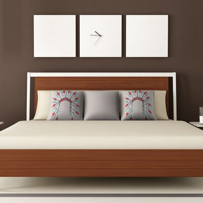 DENY Designs Wesley Bird Dressy Polyester Throw Pillow