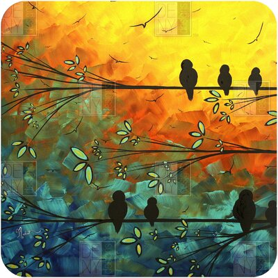 DENY Designs Madart Inc. Birds Of A Feather Wall Art