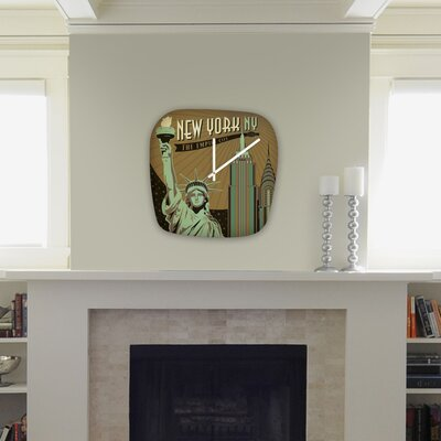 DENY Designs Anderson Design Group New York Modern Clock