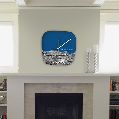 DENY Designs Bird Ave Modern University Clock