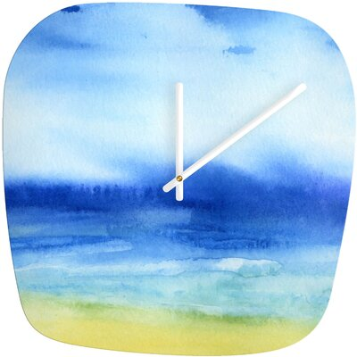 DENY Designs Jacqueline Maldonado Sea Church Modern Clock