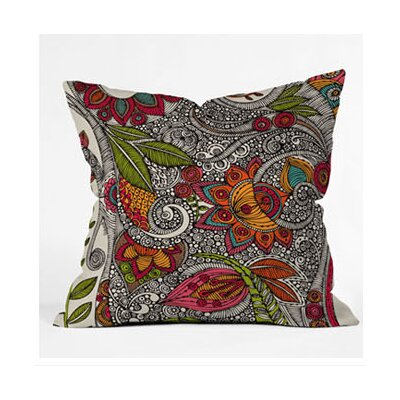 DENY Designs Valentina Ramos Random Flowers Throw Pillow