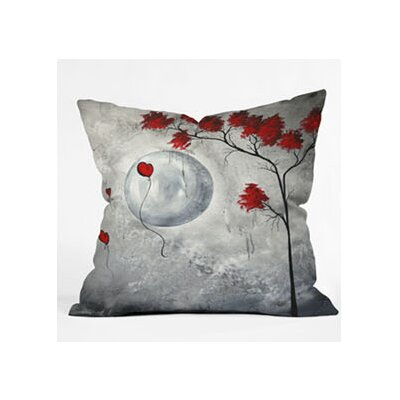 DENY Designs Madart Inc. Far Side Of The Moon Woven Polyester Throw Pillow