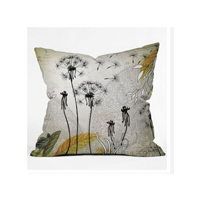 DENY Designs Iveta Abolina Little Dandelion Throw Pillow