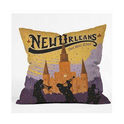 DENY Designs Anderson Design Group Music City Throw Pillow