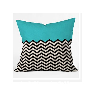 DENY Designs Bianca Green Woven Polyester Throw Pillow