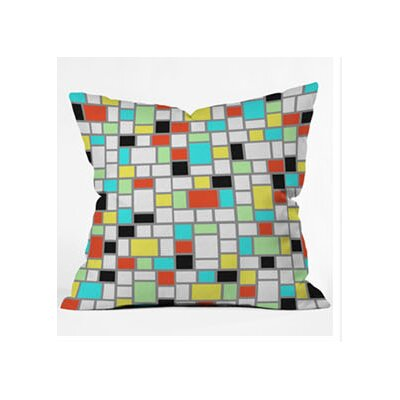 DENY Designs Jacqueline Maldonado Geo Square Throw Pillow