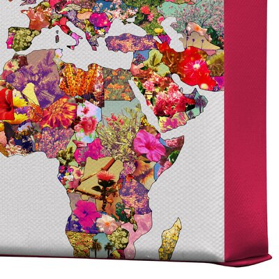 DENY Designs Bianca Green Its Your World Gallery Wrapped Canvas