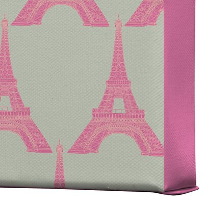 DENY Designs Bianca Green Oui Oui Gallery Wrapped Canvas