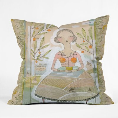 DENY Designs Cori Dantini Always Thoughtful Indoor / Outdoor Polyester Throw Pillow