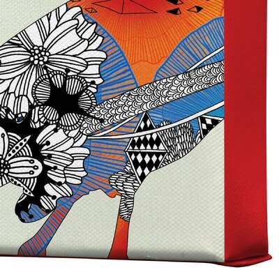 DENY Designs Iveta Abolina Bluebird Gallery Wrapped Canvas