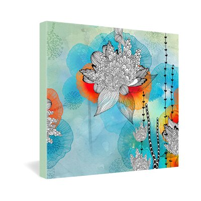 DENY Designs Coral by Iveta Abolina Graphic Art on Canvas