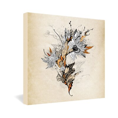DENY Designs Iveta Abolina Floral 1 Gallery Wrapped Canvas