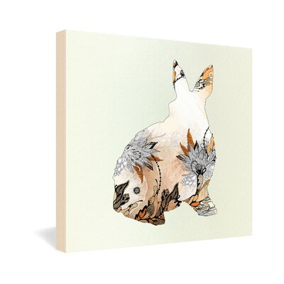 DENY Designs Iveta Abolina Little Rabbit Gallery Wrapped Canvas