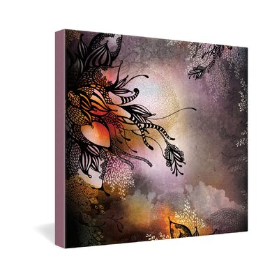 DENY Designs Iveta Abolina Rain Gallery Wrapped Canvas