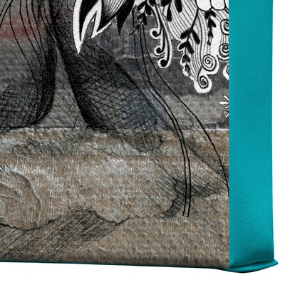 DENY Designs Iveta Abolina Stay Awhile Gallery Wrapped Canvas