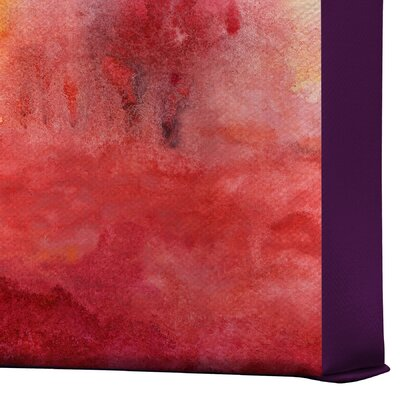 DENY Designs Where I End by Jacqueline Maldonado Painting Print on Canvas