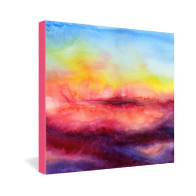 DENY Designs Jacqueline Maldonado Kiss Of Life Gallery Wrapped Canvas