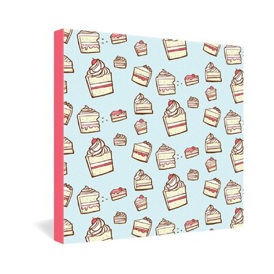 DENY Designs Cake Slices by Jennifer Denty Graphic Art on Canvas