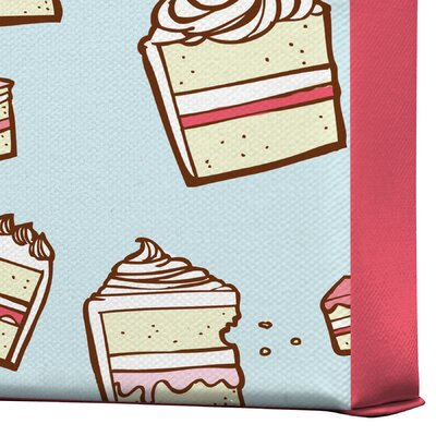 DENY Designs Jennifer Denty Cake Slices Gallery Wrapped Canvas