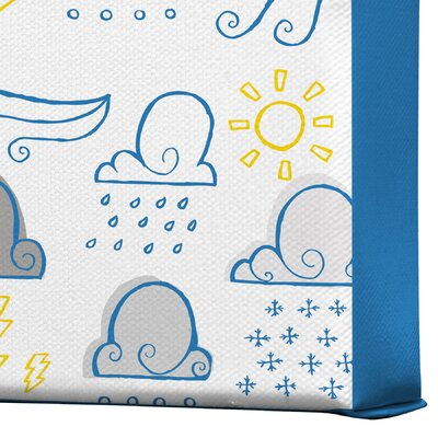 DENY Designs Jennifer Denty Clouds Gallery Wrapped Canvas