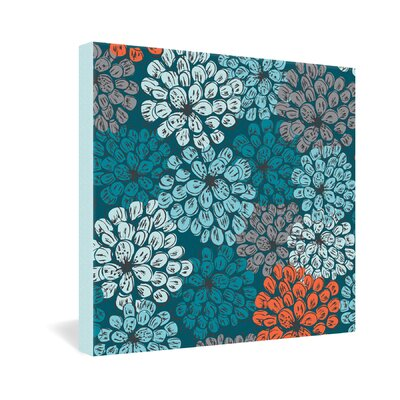 DENY Designs Greenwich Gardens 3 by Khristian A Howell Graphic Art on Canvas