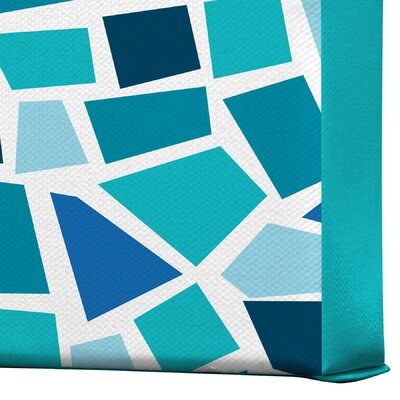 DENY Designs Khristian A Howell Baby Beach Bum 6 Gallery Wrapped Canvas