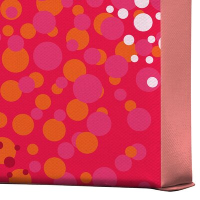 DENY Designs Brady Dots 2 by Khristian A Howell Graphic Art on Canvas