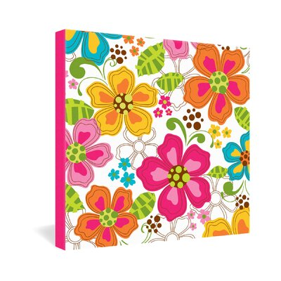 DENY Designs Kaui Blooms by Khristian A Howell Graphic Art on Canvas