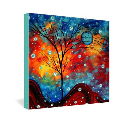 DENY Designs Summer Snow by Madart Inc Graphic Art on Canvas
