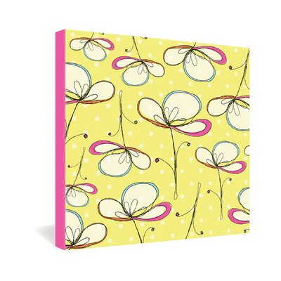 DENY Designs Floral Umbrellas by Rachael Taylor Graphic Art on Canvas