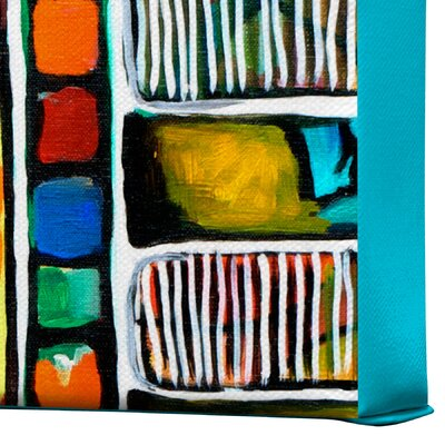 DENY Designs Musical Chairs by Robin Faye Gates Painting Print on Canvas