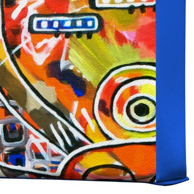 DENY Designs It Came from Detroit by Robin Faye Gates Painting Print on Canvas
