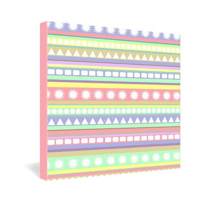 Romi Vega Pastel Pattern Gallery Wrapped Canvas