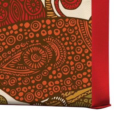 DENY Designs The Orange Bird by Valentina Ramos Graphic Art on Canvas