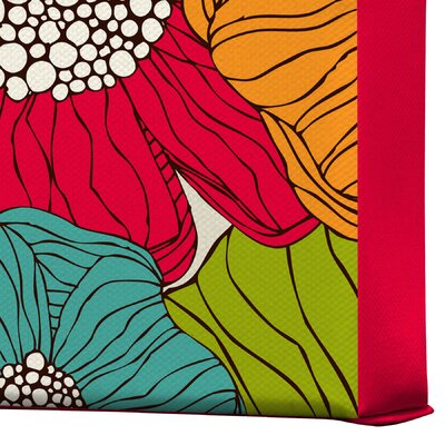 DENY Designs Valentina Ramos Flowers Gallery Wrapped Canvas