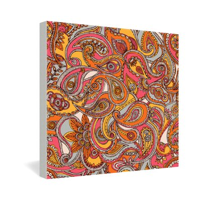 DENY Designs Valentina Ramos Spring Paisley Gallery Wrapped Canvas