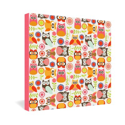 DENY Designs Valentina Ramos Cute Little Owls Gallery Wrapped Canvas